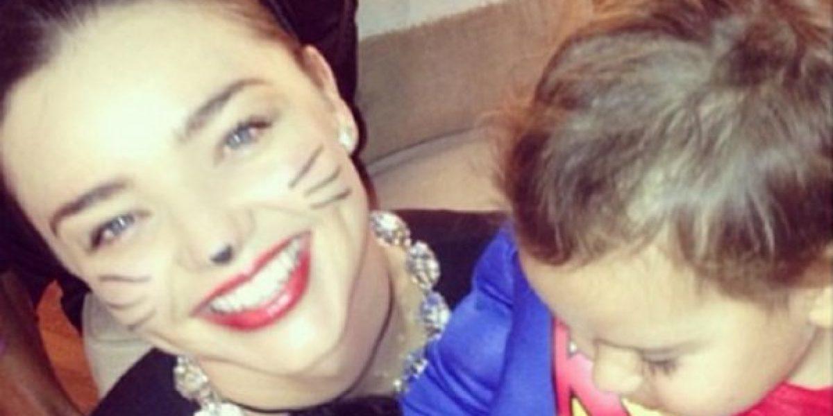 Las bellas Miranda Kerr, Kate Moss y Liv Taylor también celebraron Halloween