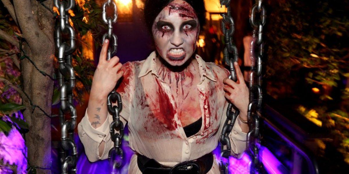 Así celebró Demi Lovato la noche de Halloween