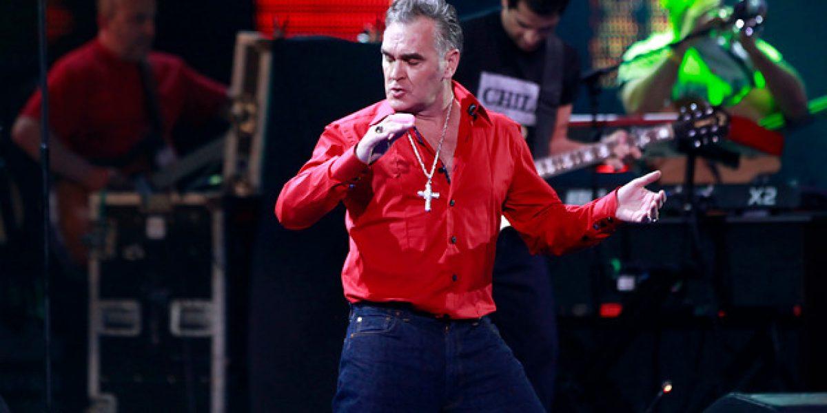 Morrissey es dado de alta tras ser hospitalizado por