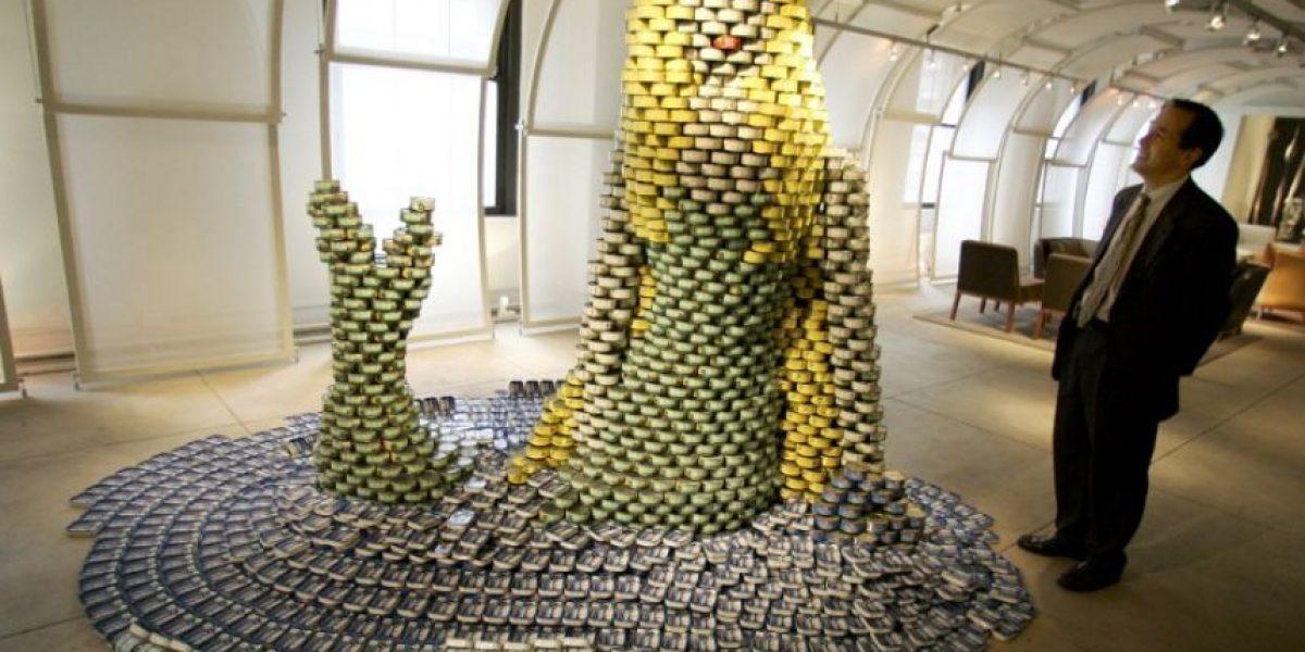 Galería: Notables estructuras hechas sólo con latas de conservas