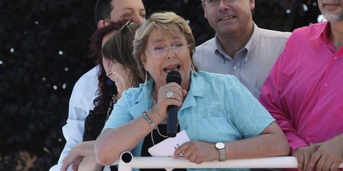 GALERÍA: Bachelet llama a partidarios
