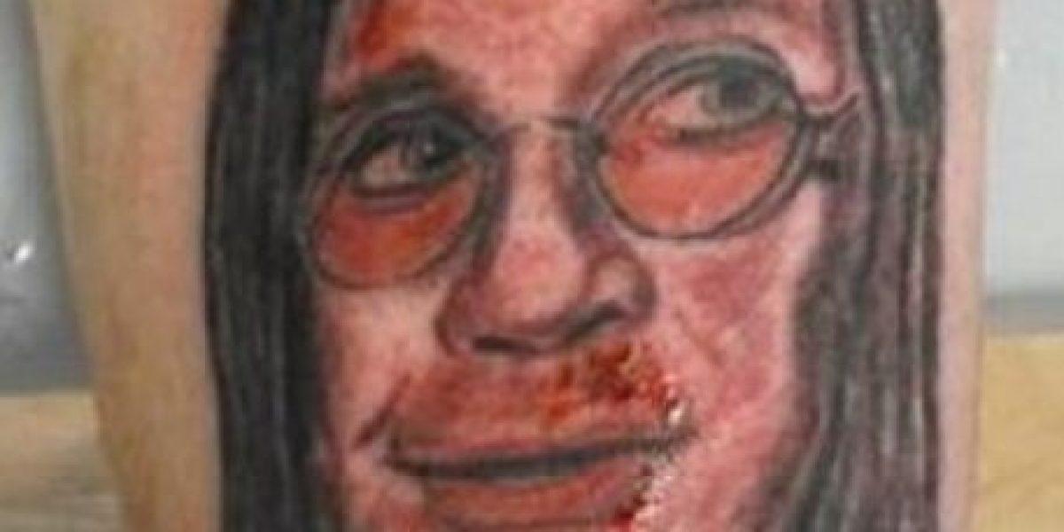 FOTOS: Los peores tatuajes del rock