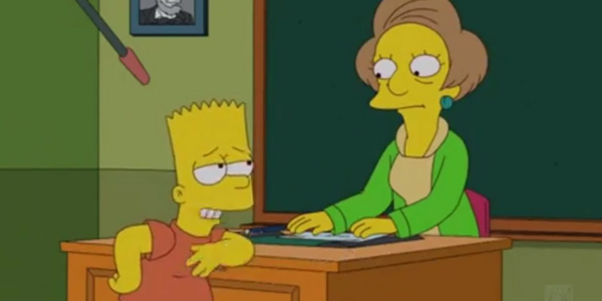 El sentido homenaje de Bart Simpson a la fallecida Marcia Wallace