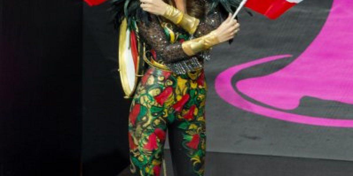 Así se hizo el llamativo traje de Chinchinera de la Miss Universo Chile