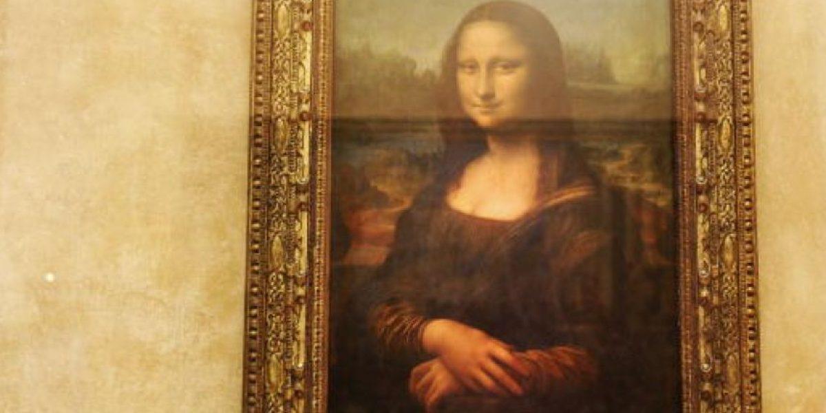 FOTOS: Así queda la Mona Lisa en campaña que intenta crear conciencia sobre el cáncer