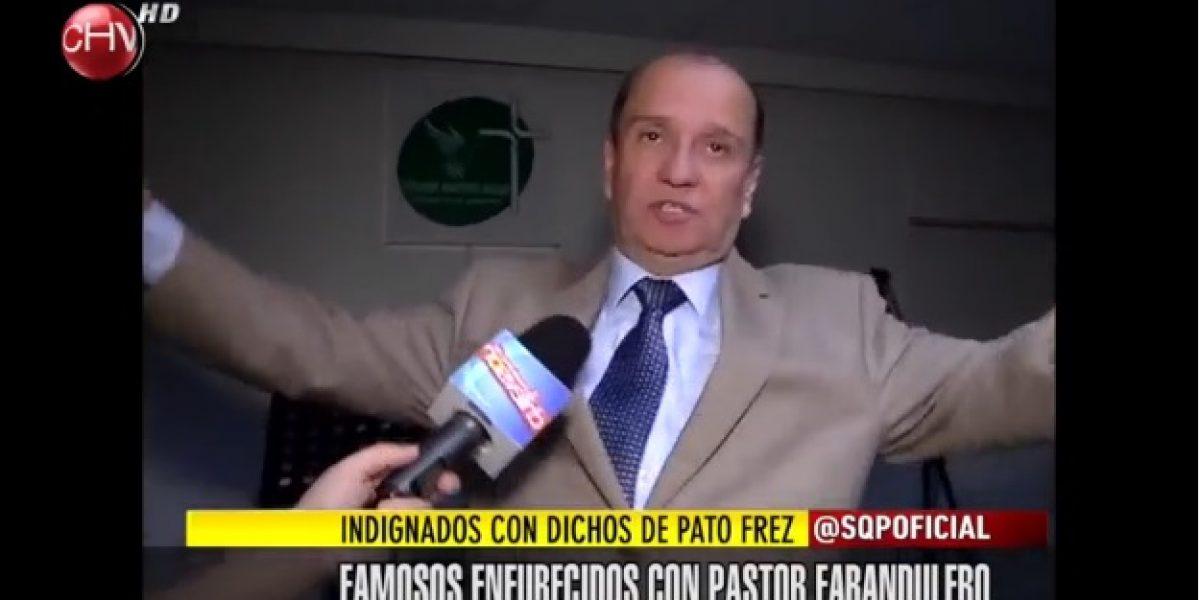 Famosos indignados por dichos de Pato Frez en contra de homosexuales