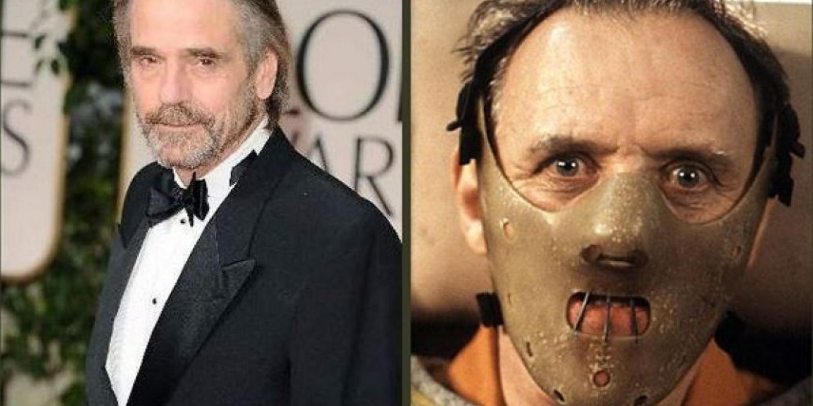 . Imagen Por: Jeremy Irons decidió no interpretar a Hannibal Lecter en la película