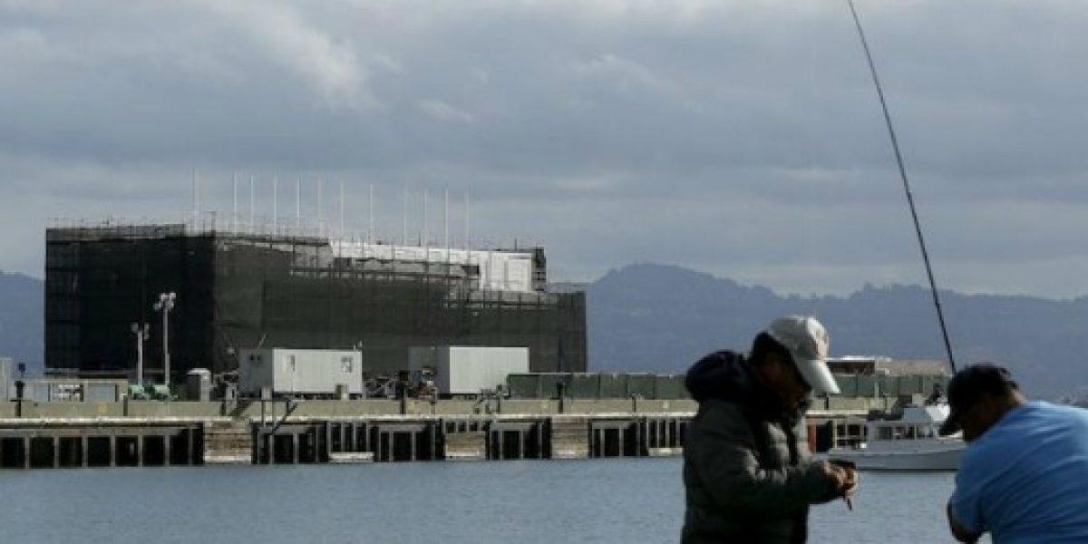 Las presuntas oficinas de Google en el mar