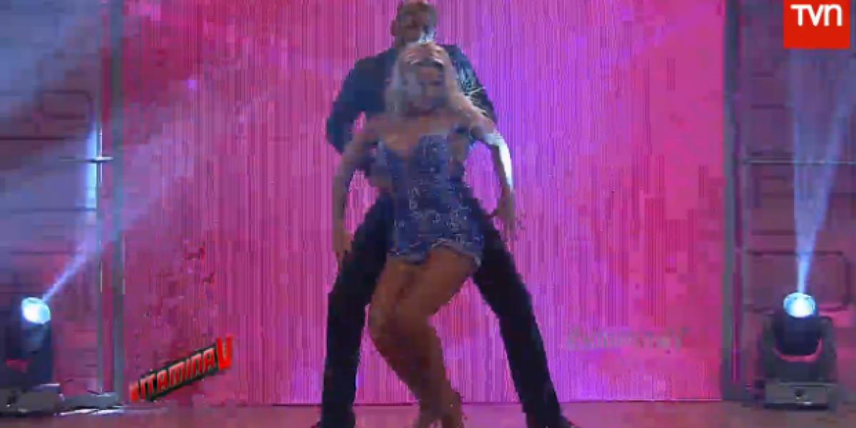 Lola Melnick volvió a la televisión chilena con sensual baile