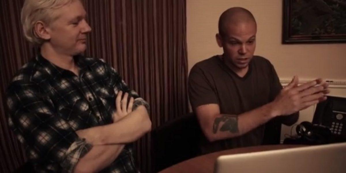 Calle 13 publica adelanto del tema realizado con el fundador de WikiLeaks y Tom Morello