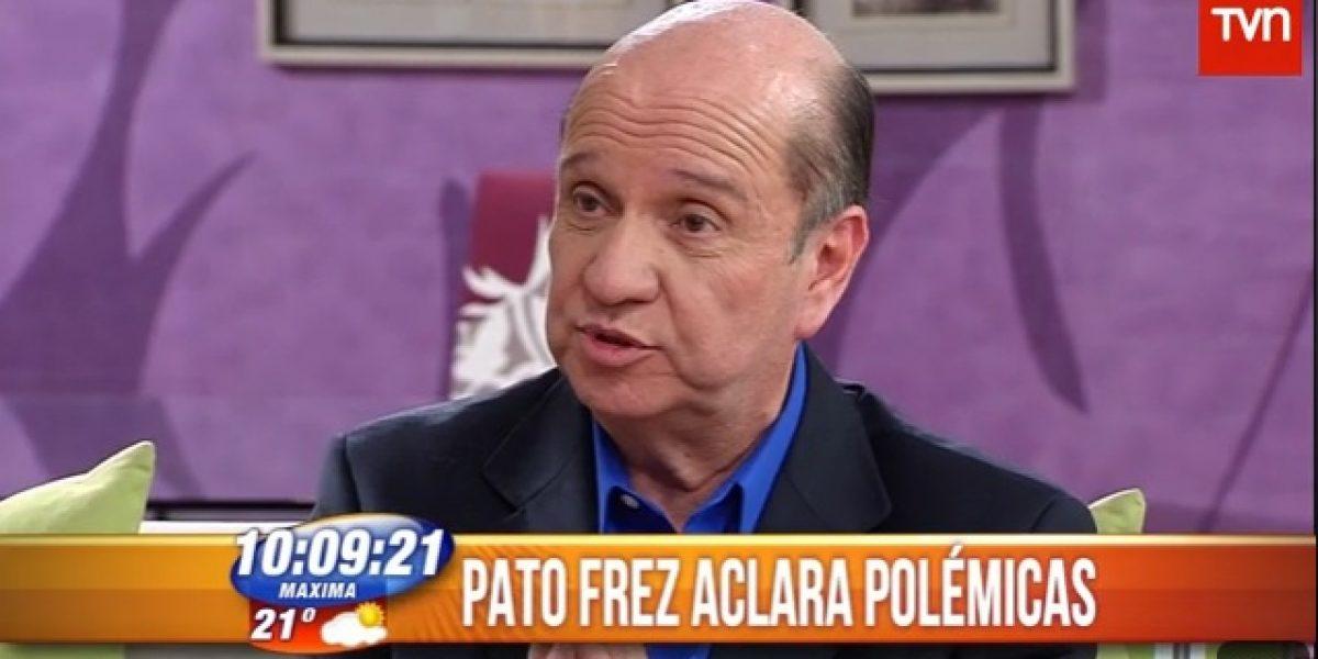 Pato Frez incomoda a Julián Elfenbein con sus dichos sobre homosexuales