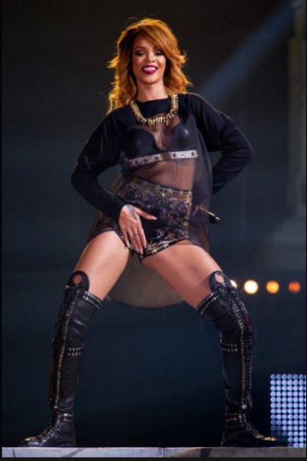 . Imagen Por: Rihanna Foto: Getty Images