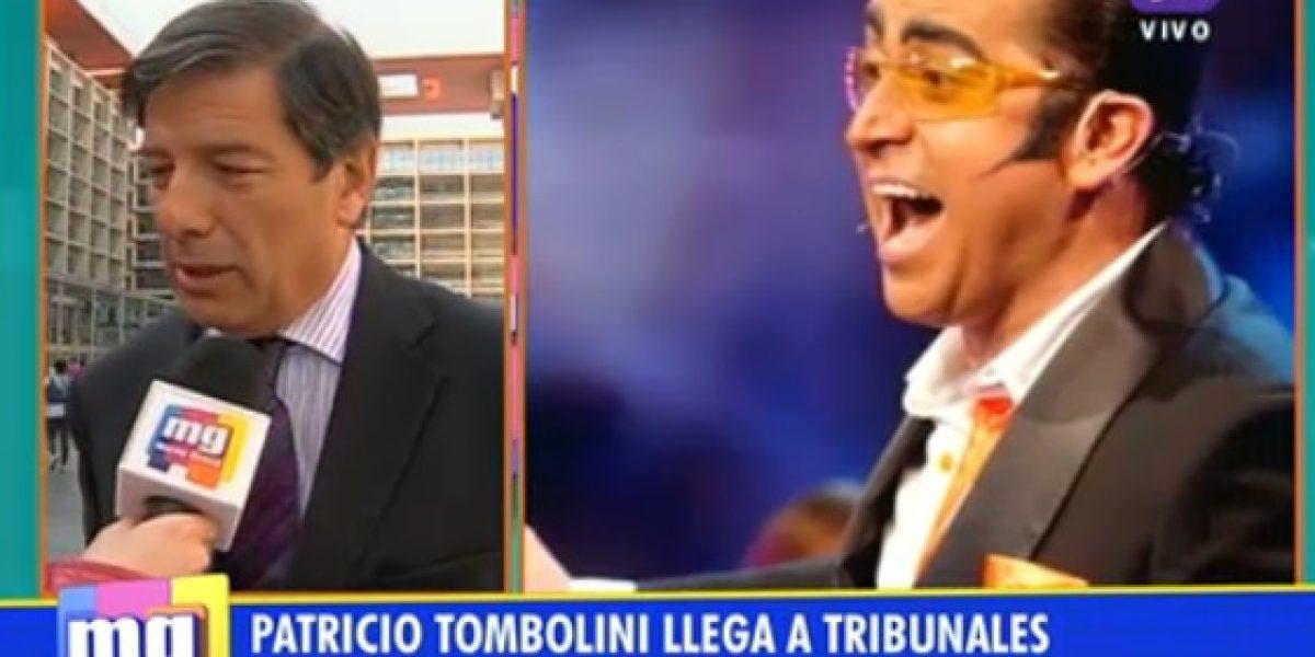 Patricio Tombolini presentó querella en contra de Yerko Puchento
