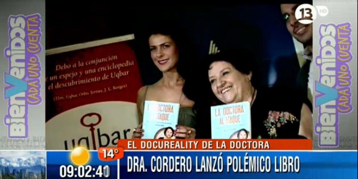 Doctora Cordero presentó su libro junto a Tonka Tomicic