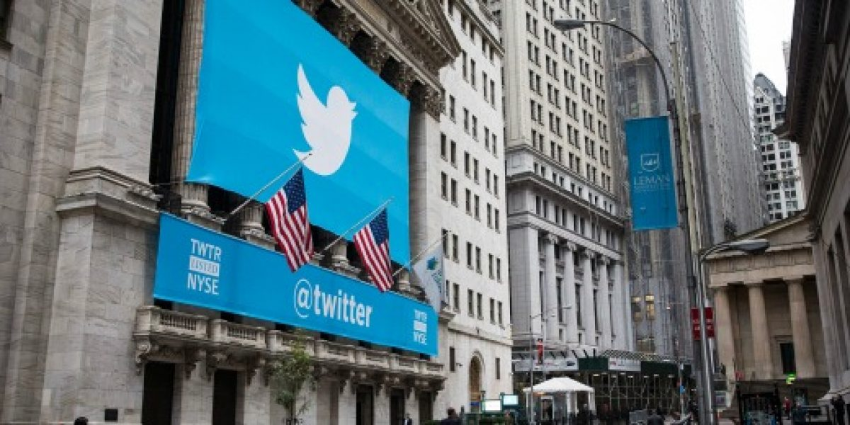 Galería: así luce la bolsa de Nueva York con el debut de Twitter