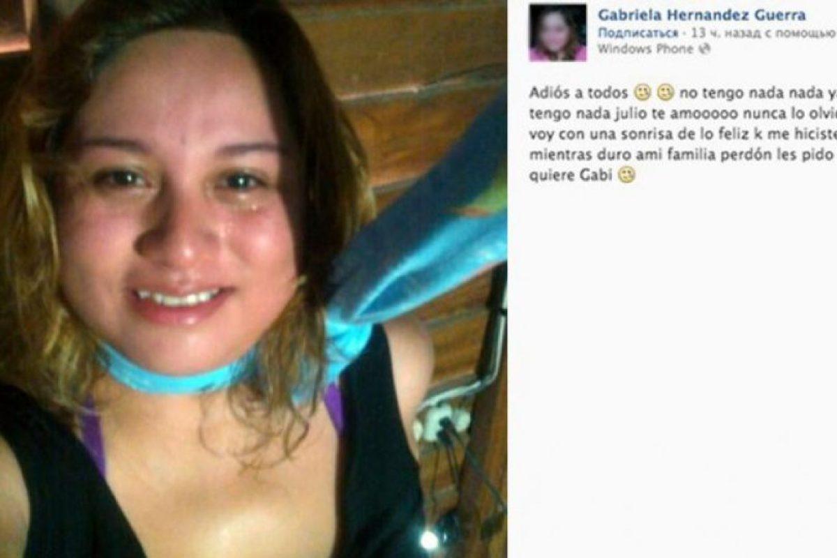 Foto:Facebook Gabriela Hernández Guerra. Imagen Por: