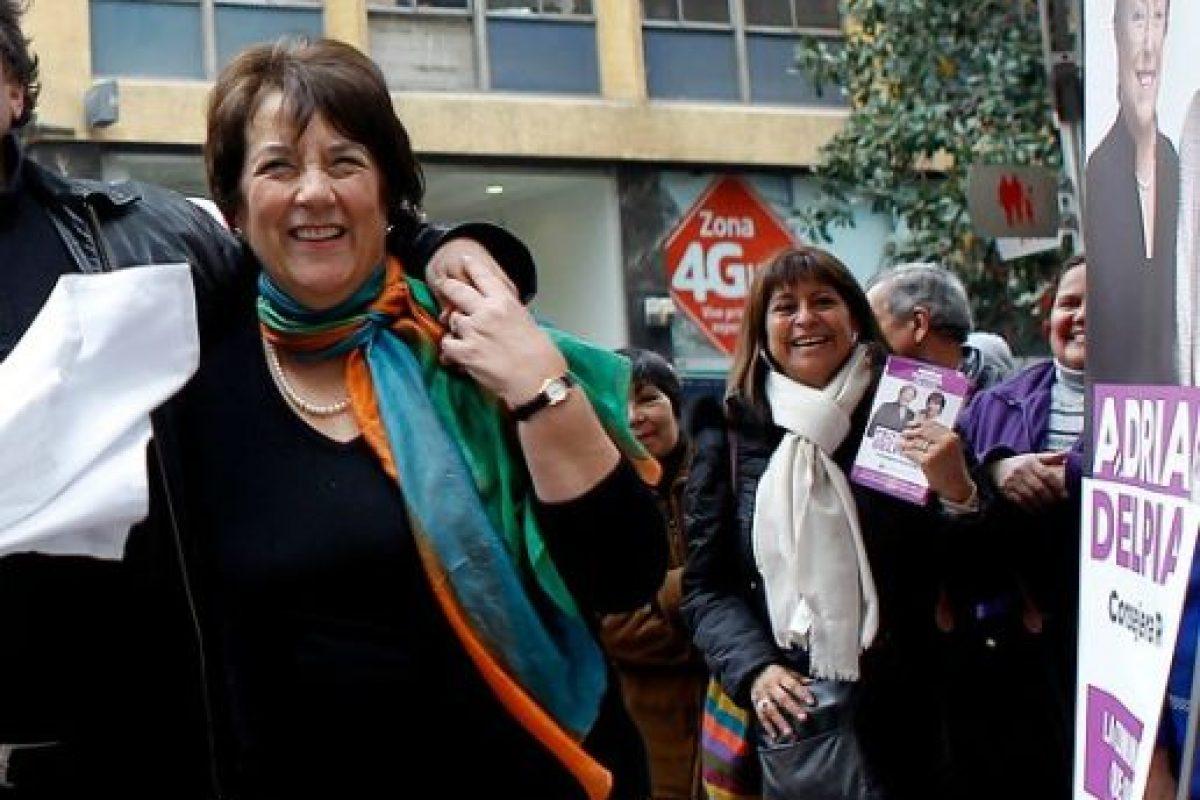 Adriana Delpiano: Fue ministra de Bienes Nacionales con Frei, del Sernam con Lagos e intendenta de Santiago con Bachelet. Compite por la misma circunscripción que Marcelo Trivelli pero en un cupo de su partido, la DC . Imagen Por: