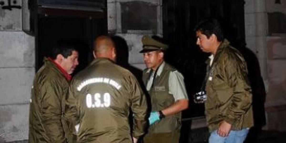 Sujetos lanzan molotov a cajeros automáticos de sucursal bancaria en Estación Central