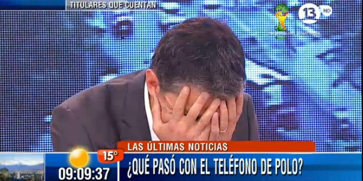 Tonka sigue tratando de arreglar el celular de Polo Ramírez