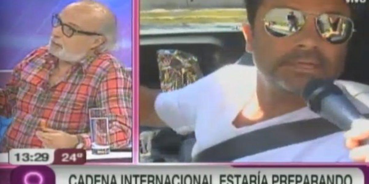 Cadena Internacional estaría trabajando en serie basada en Felipe Camiroaga