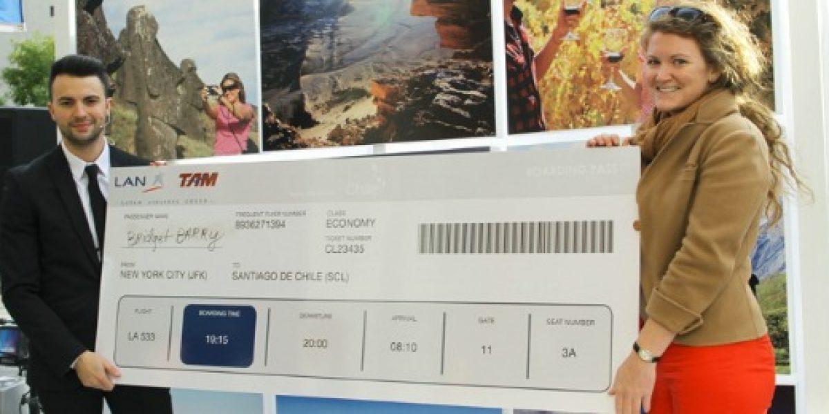Realizan novedoso concurso en Nueva York para promover turismo en Chile