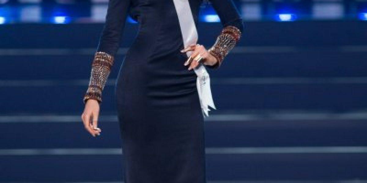 María Jesús Matthei se luce en la pasarela de Miss Universo
