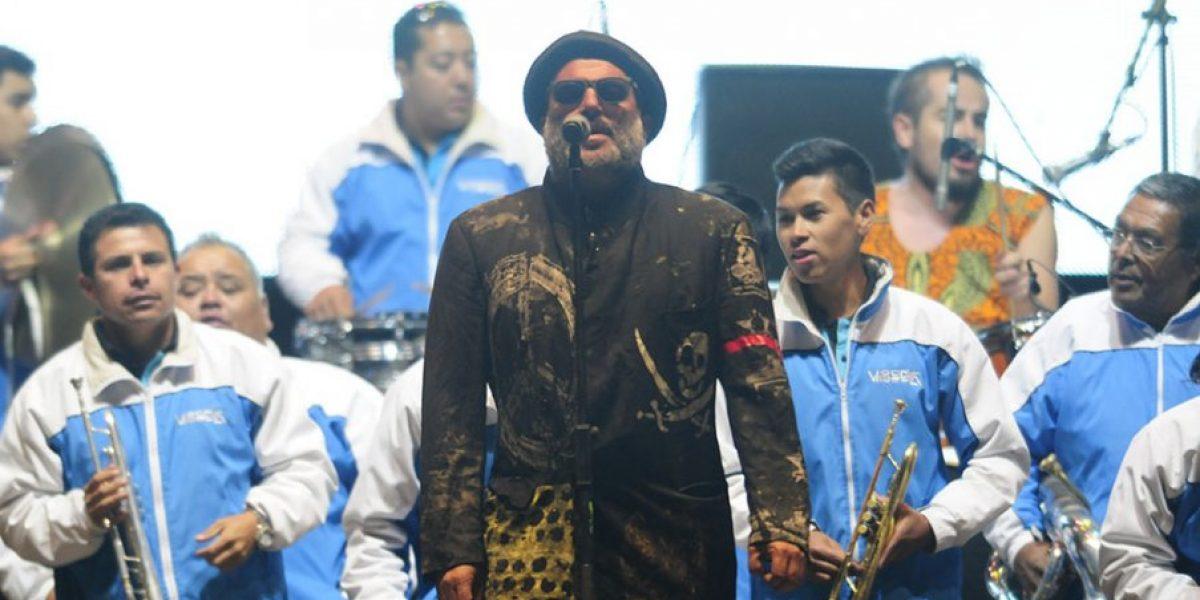 Chico Trujillo armó una fiesta en el Frontera Festival