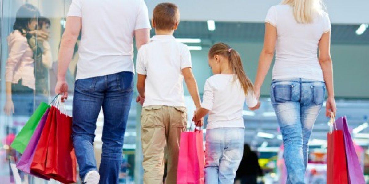Cómo influyen los niños al hacer compras