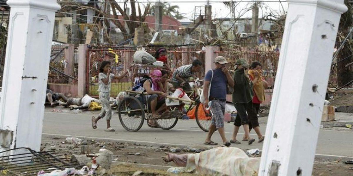 Impresionantes imágenes del mortal tifón que dejó más de 10 mil muertos en Filipinas