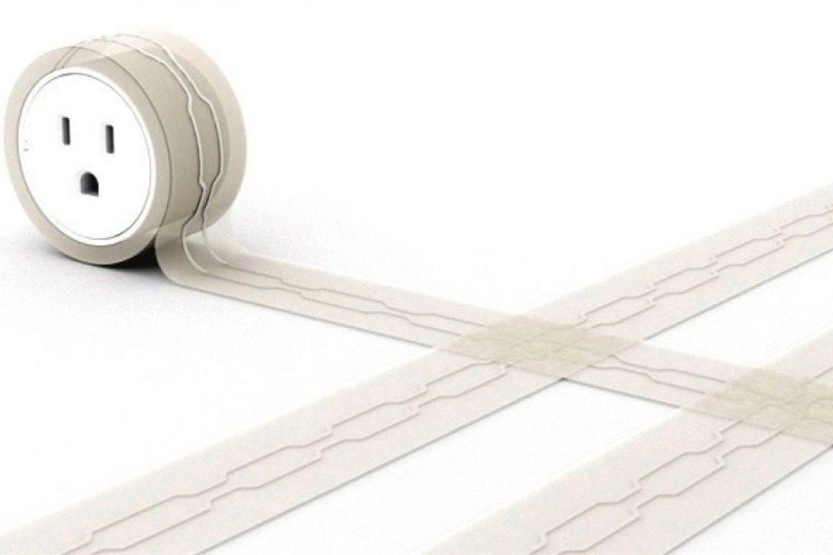 Extensiones planas de cable para colocarlas bajo la alfombra.. Imagen Por: