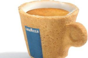 Una taza de café que también se pueda comer.. Imagen Por:
