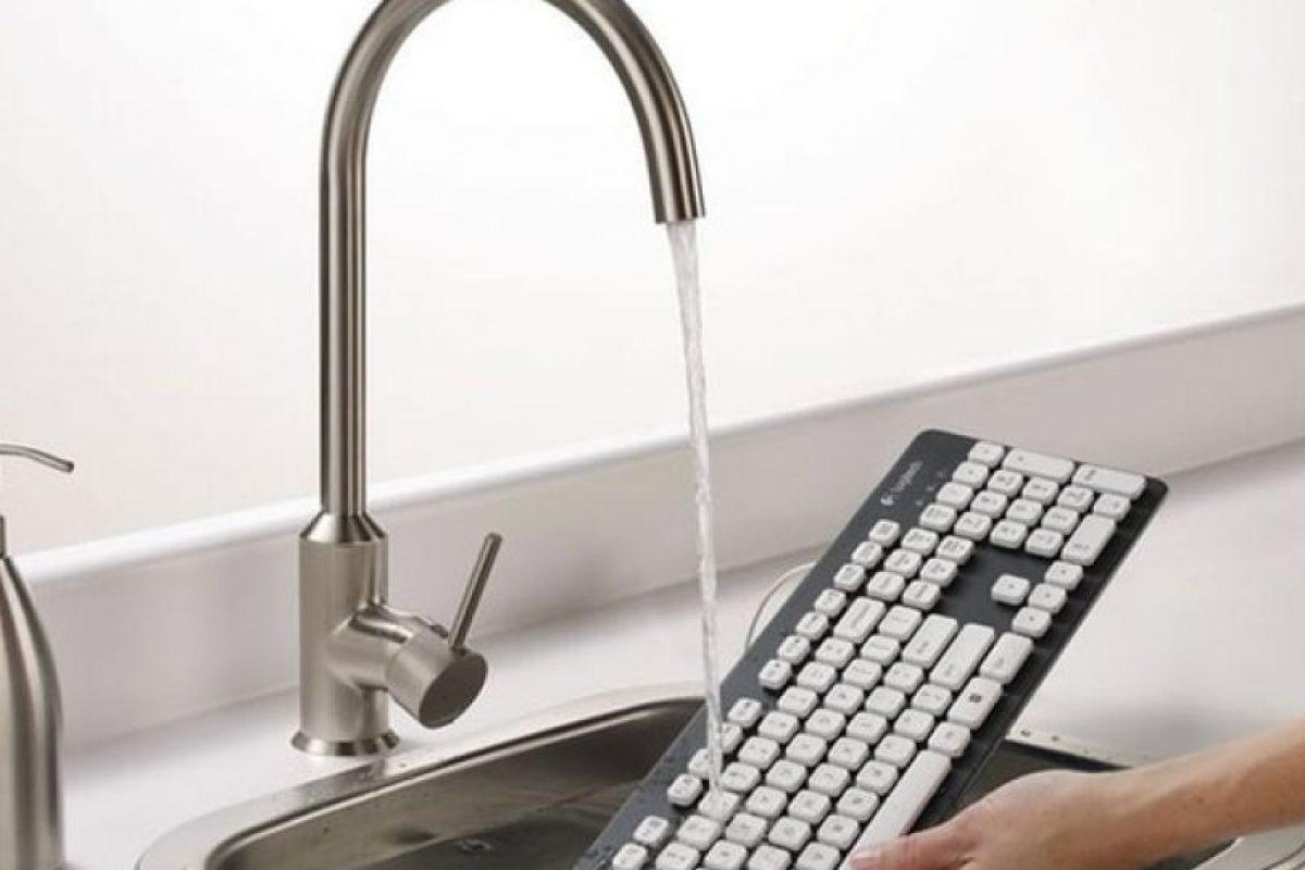 El teclado lavable.. Imagen Por:
