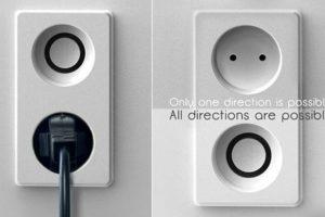 Los enchufes podrían ser redondos, por lo que podrías conectar la corriente en cualquier dirección.. Imagen Por: