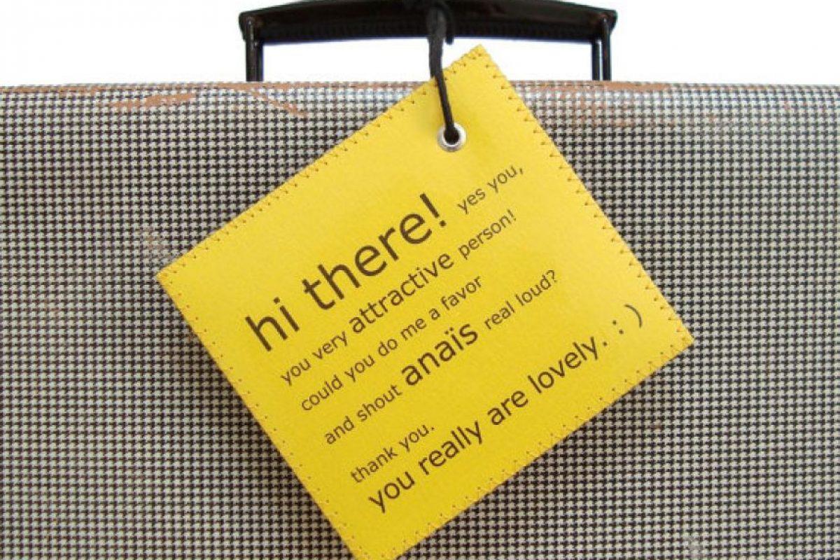 Una maleta que llame a su dueño.. Imagen Por: