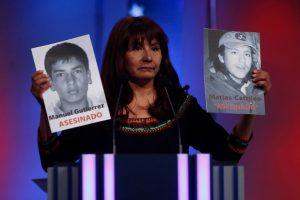 Porque nos recordaste a dos muertos por Carabineros en plena democracia. Imagen Por: