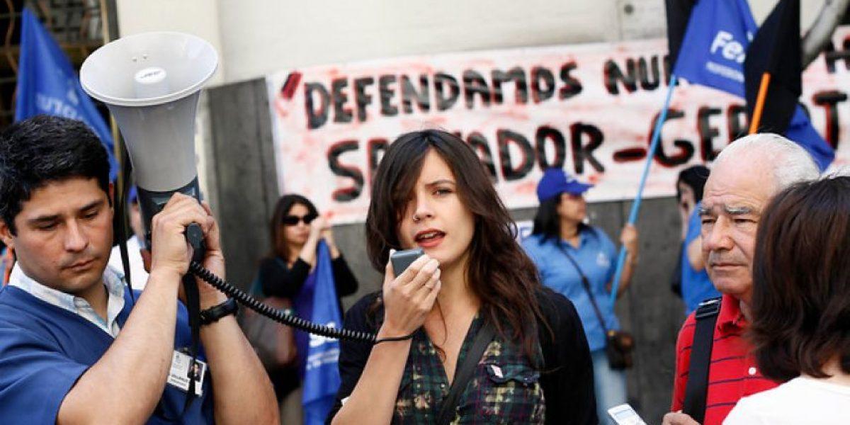 FOTOS: Camila Vallejo y el