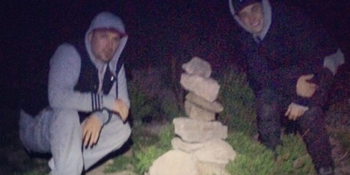 Justin Bieber vuelve a su hotel tras visitar Farellones y Ñuñoa