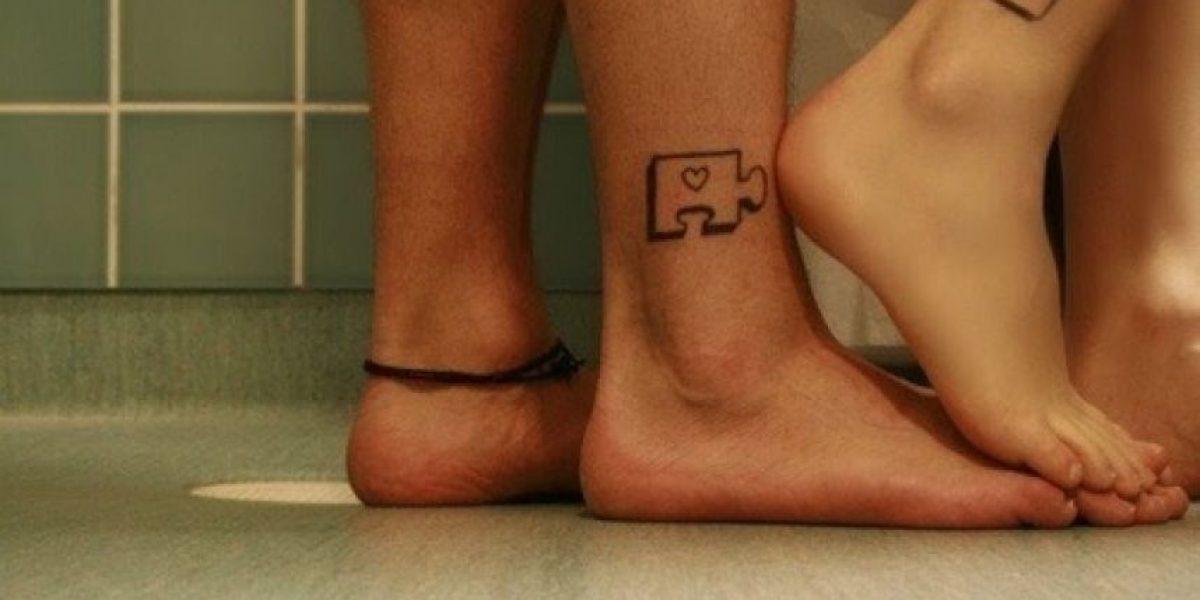 ¿Lo harías? Los más llamativos tatuajes en pareja