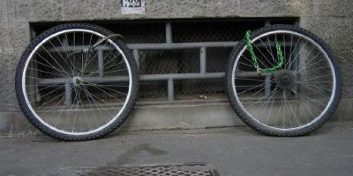 Galería: Las peores (y más peligrosas) formas de estacionar tu bicicleta