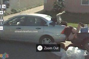 Mujer atropellada Foto:@VistoEnMaps. Imagen Por:
