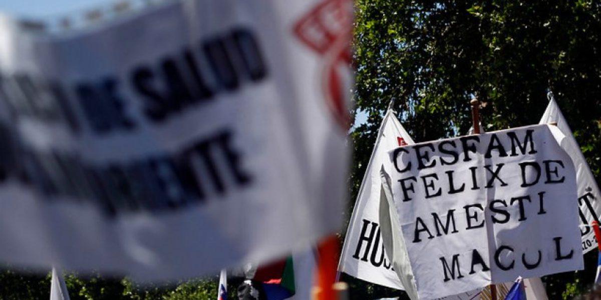 FOTOS: Empleados públicos realizan concentración en Plaza Los Héroes