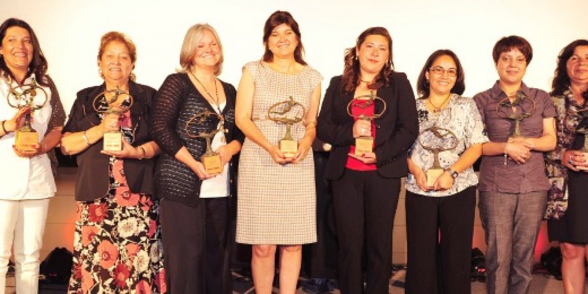 Estas son las ganadoras de la 12º versión del Premio Nacional Mujer Emprendedora