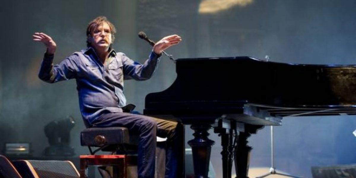 Charly García suspende concierto en Bogotá por problemas de salud