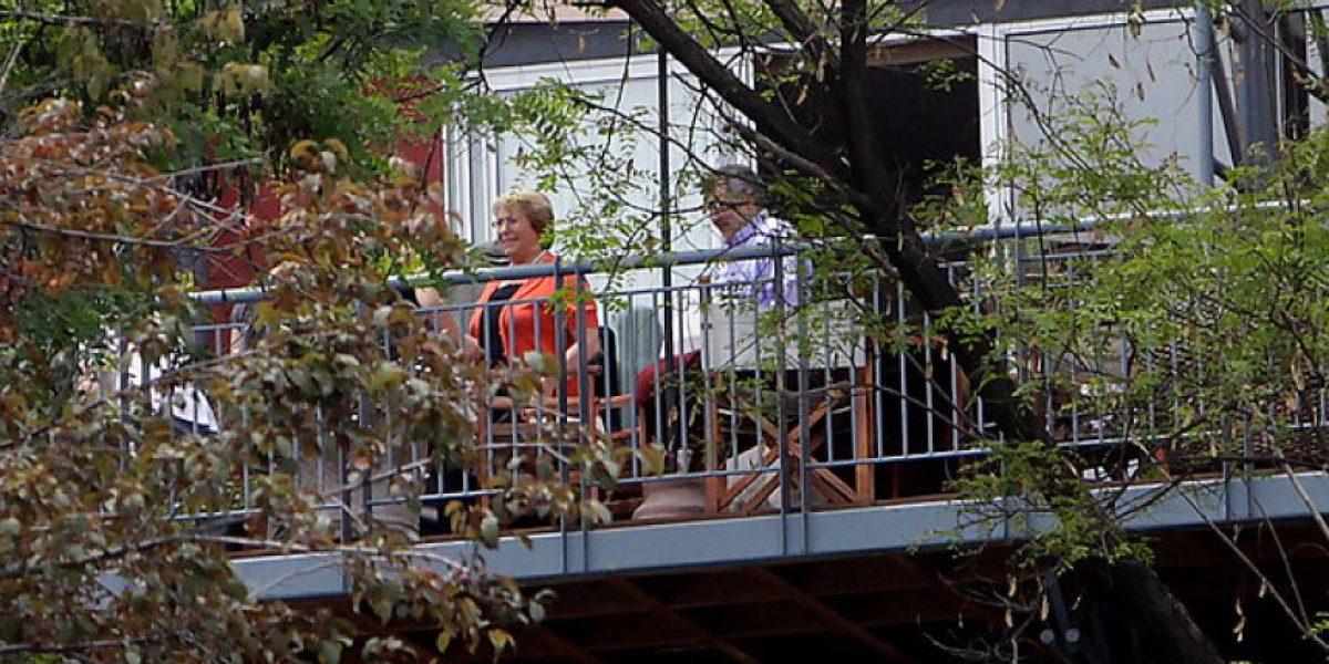 Elecciones 2013: El almuerzo familiar de Bachelet