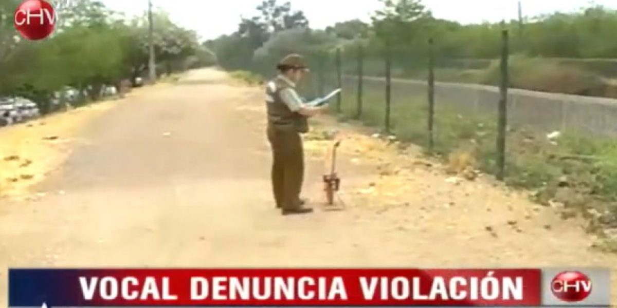 [GALERIA] Violan a vocal de mesa en Peñalolén
