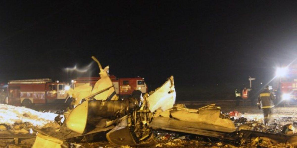 [FOTOS] Falla técnica habría provocado fatal accidente aéreo en Rusia