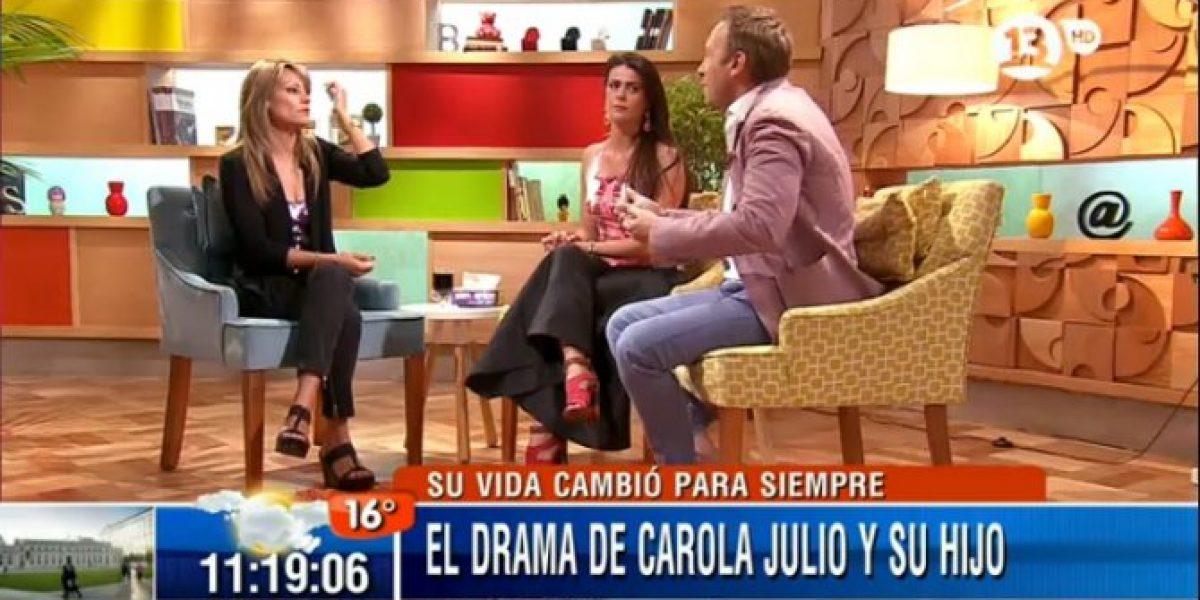 Carola Julio sorprende a Tonka Tomicic al aconsejarle ser madre pronto