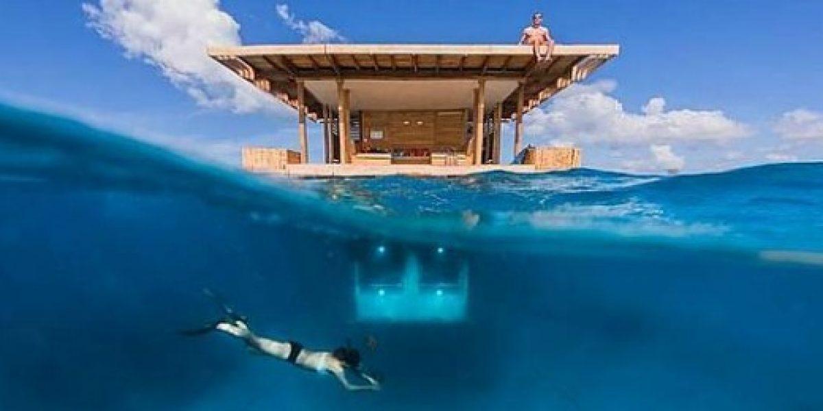 Galería: resort inaugura una suite flotante en el mar