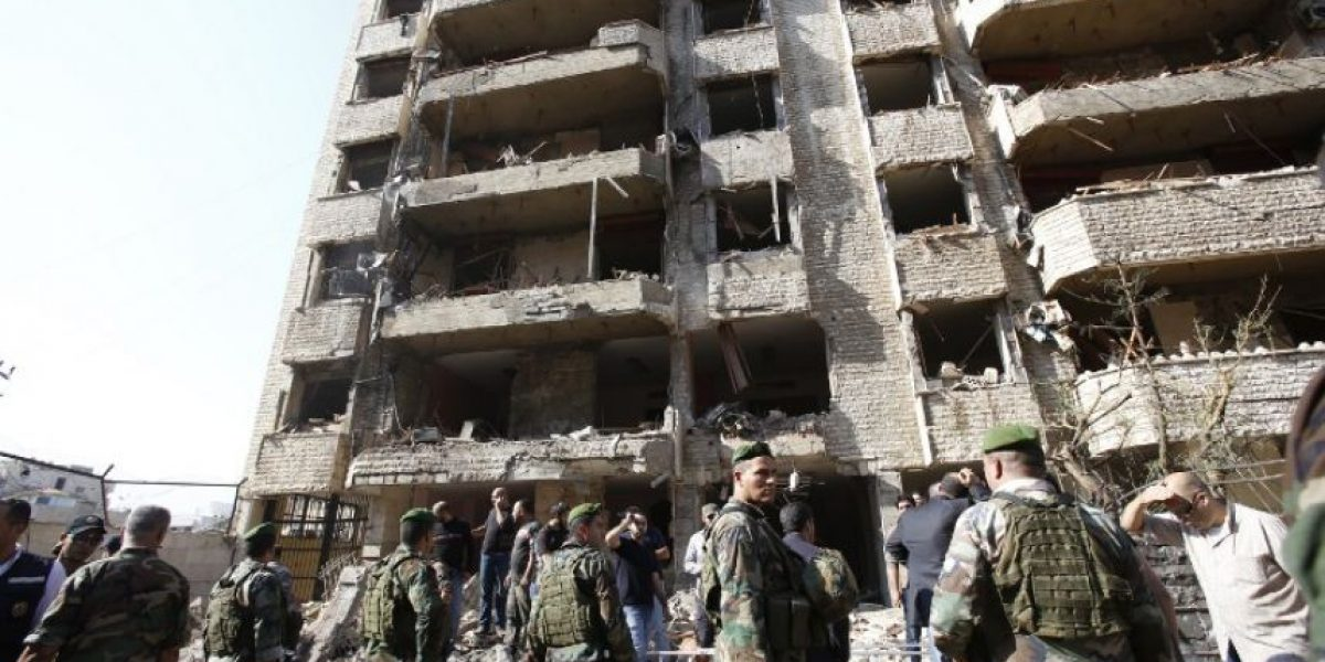 Impactantes fotos del ataque terrorista en Beirut que dejó 22 muertos y 146 heridos