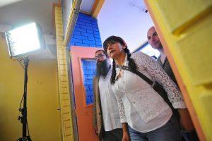 """""""Los grandes perdedores fueron los mismos de siempre, nuestro pueblo"""". Roxana Miranda. Foto:Agencia Uno. Imagen Por:"""